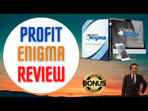 Profit Enigma Review [DON'T GET THIS WITHOUT MY 💰CUSTOM💰 BONUSES]