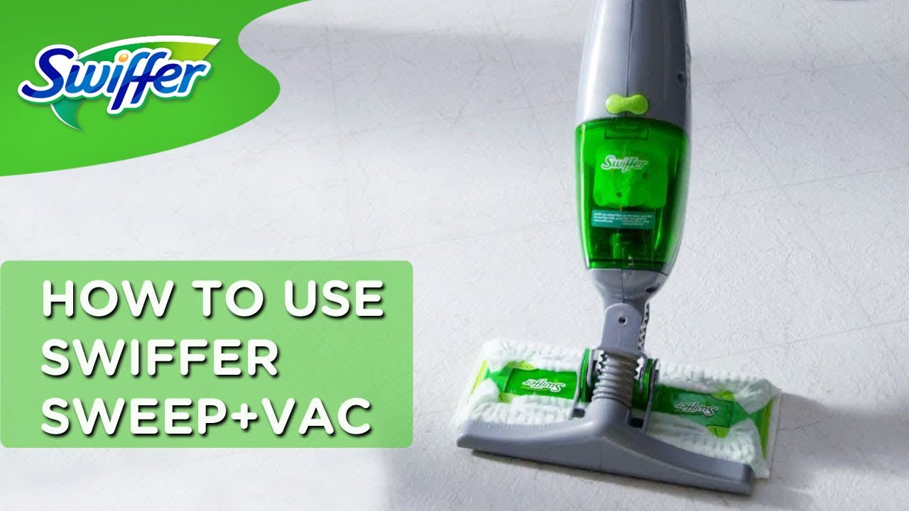 How To Use Swiffer Sweep Vac Lightweight Cordless