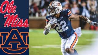 Ole Miss vs #11 Auburn Highlights | NCAAF Week 10 | College Football Highlights