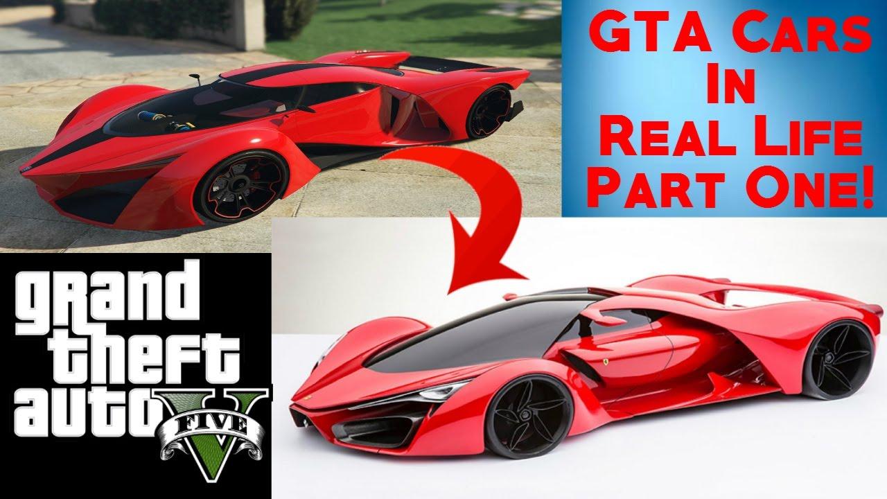 GTA 5 Cars In Real Life ! Real Life Vehicles VS GTA Vehicles !!