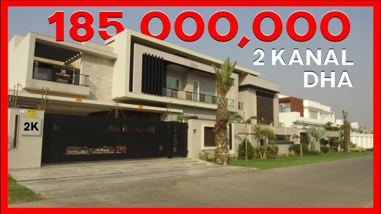 2 KANAL BUNGALOW IS FOR SALE IN PHASE 6 DHA LAHORE