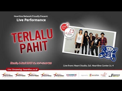 TERLALU PAHIT - SLANK at INTIM Spesial 8 Juni 2017 [Heartline 100.6 FM]