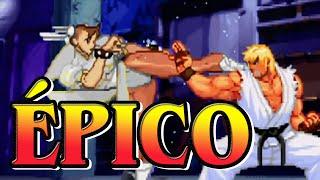 O vídeo onde Ken apara vários chutes da Chun-li no torneio de Stree...