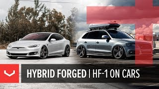 Vossen Hybrid Forged HF-1   Car Mash-up   Tesla Model S / Audi SQ5 / Lexus RX / S63 / Hellcat