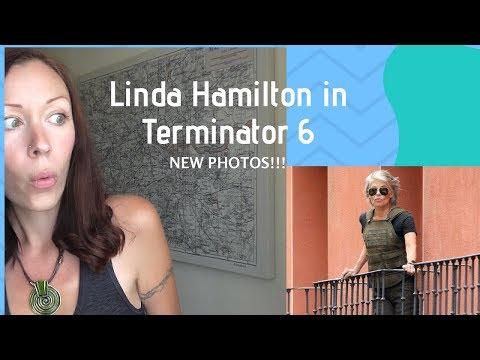 LINDA HAMILTON - TERMINATOR 6 - NEW PHOTOS!