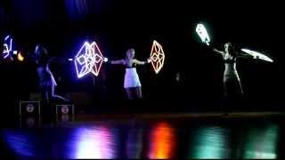 First Capital 2013 - Night Lights Show (Kharkov)