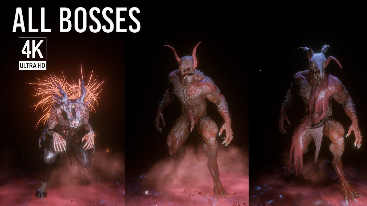 Download Agony - All Boss Fights / All Bosses & Ending (4K 60FPS, no HUD)