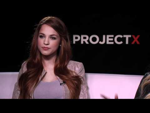 Alexis Knapp & Kirby Bliss's Official 'Project X' Interview - Celebs.com