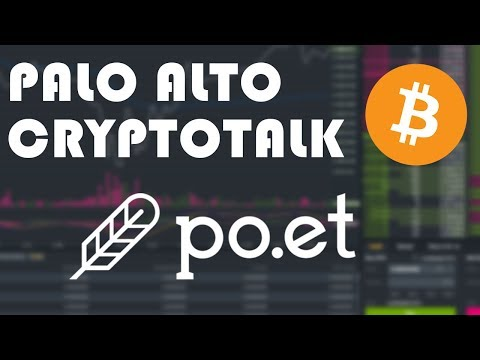 (POE) Proof of Existence Coin (Palo Alto CryptoTalk) Dec 30, 2017