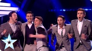 Collabro are the winners of Britain's Got Talent 2014 | Britain's Got Talent 2014 Final