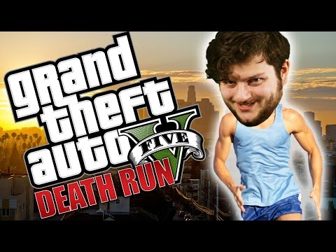 GTA 5 PC Online Funny Moments - HIGH RISK DEATHRUN!! (Custom Games)