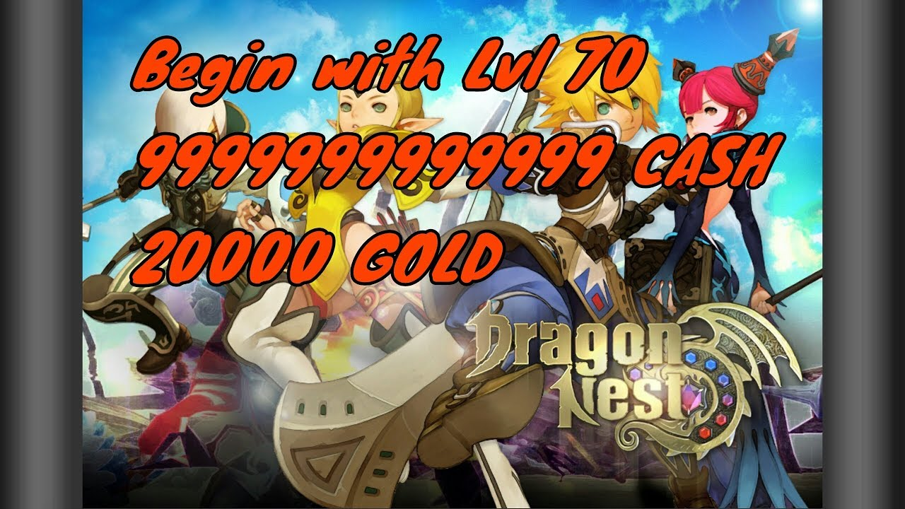 DragonNest Private Server With 99999999999 Cash
