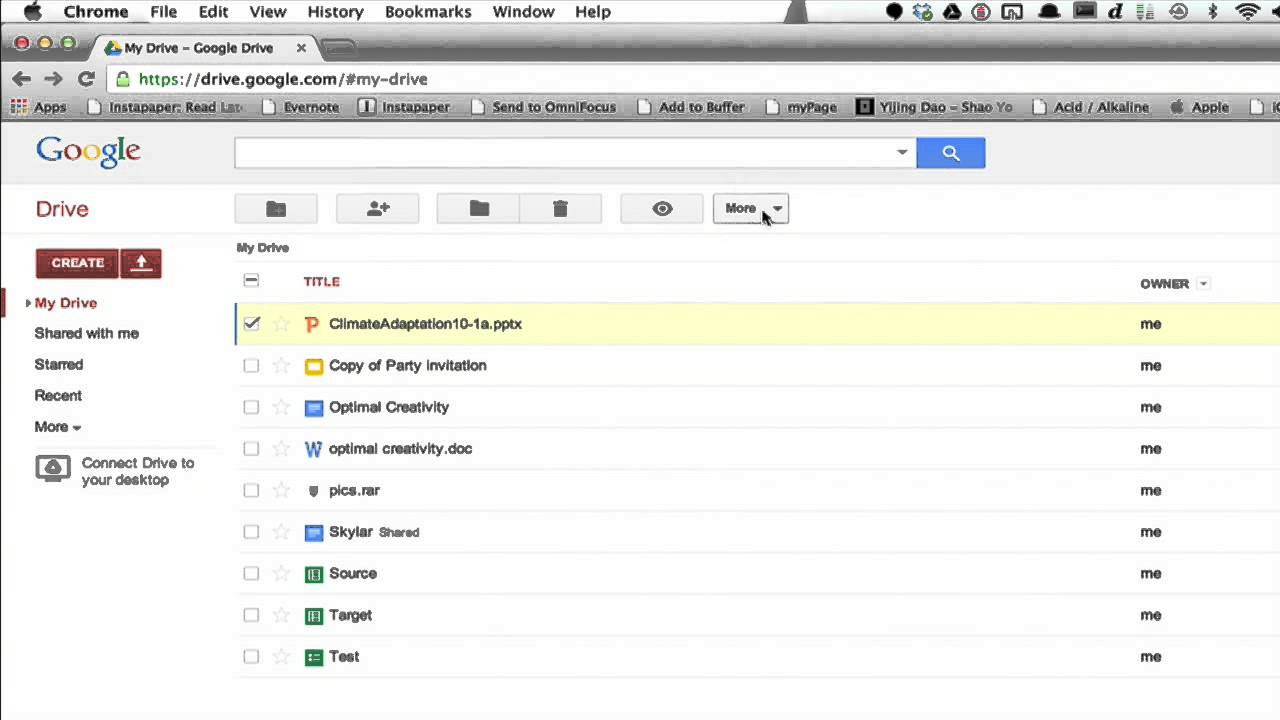 How to Get a PowerPoint From Google Docs to a Flash Drive : Using