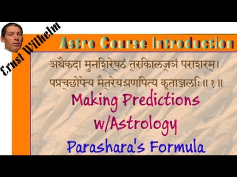 Parashara's Vedic Predictive Astrology
