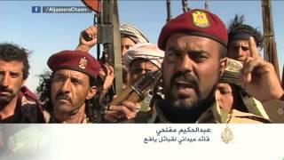 استعدادات مسلحي قبائل يافع في محافظة لحج