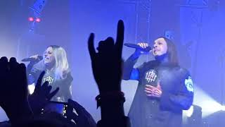 Lacuna Coil - Intro + A Current Obsession live @ O2 Kentish Town (119 show)