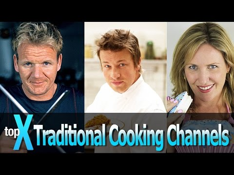 Top 10 YouTube Traditional Cooking Channels -  TopX Ep.17