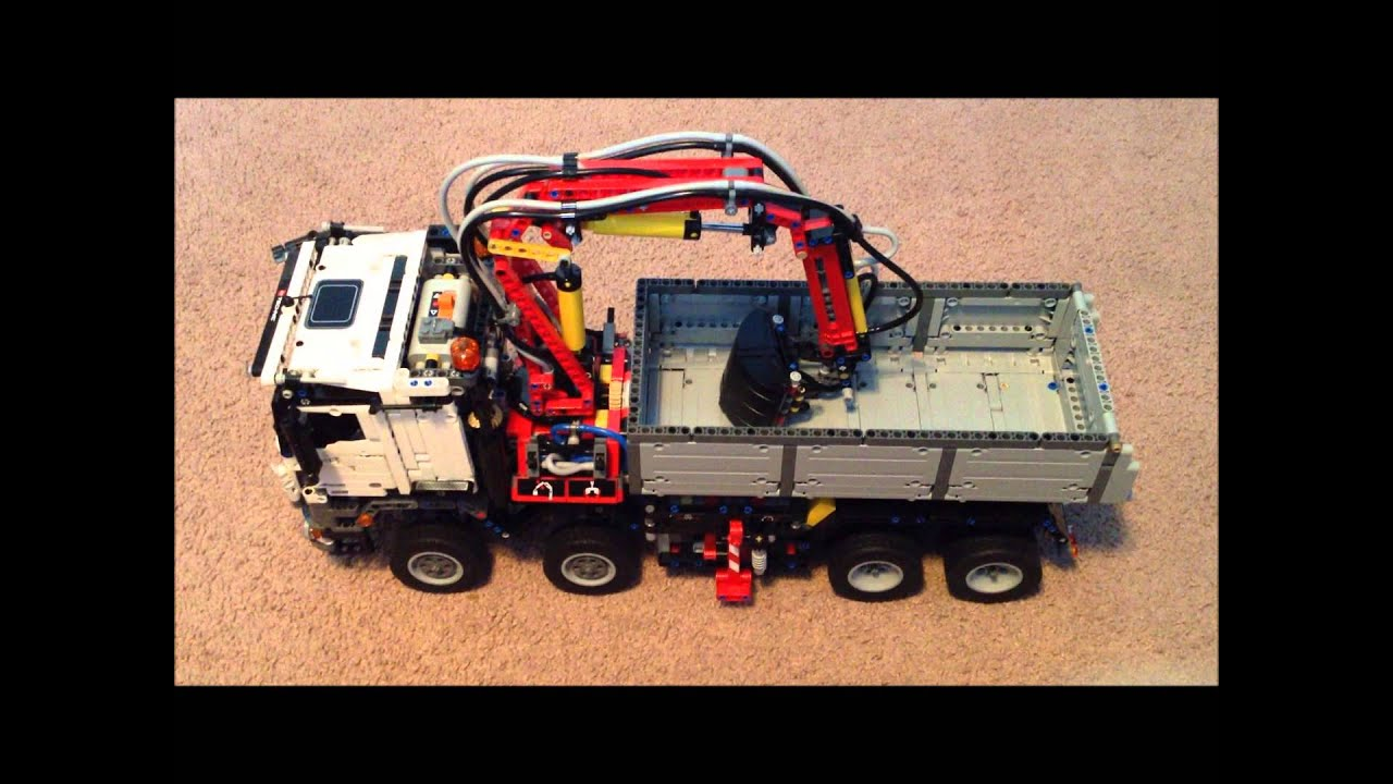 lego technic 42043 mercedes benz arocs 3245 youtube. Black Bedroom Furniture Sets. Home Design Ideas