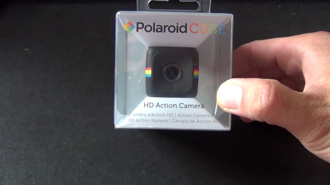 9d063ca791 POLAROID CUBE ACTION CAM HD - RECENSIONE ITALIANO UNBOXING - YouTube