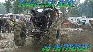 TURBO LSX RZR on NITROUS!!