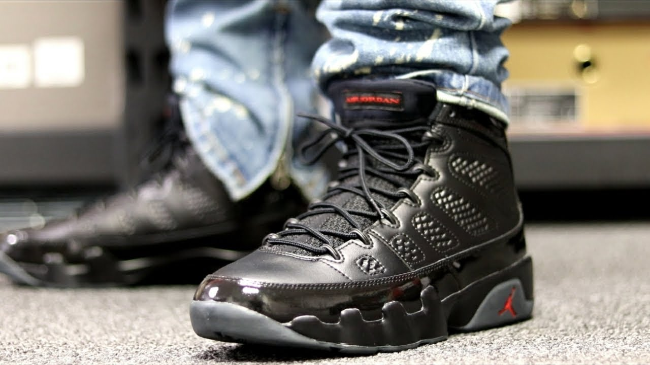 buy popular 65f91 831c2 AIR JORDAN 9 BRED REVIEW + ON FOOT