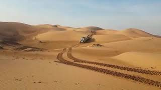 Land rover on tracks first test