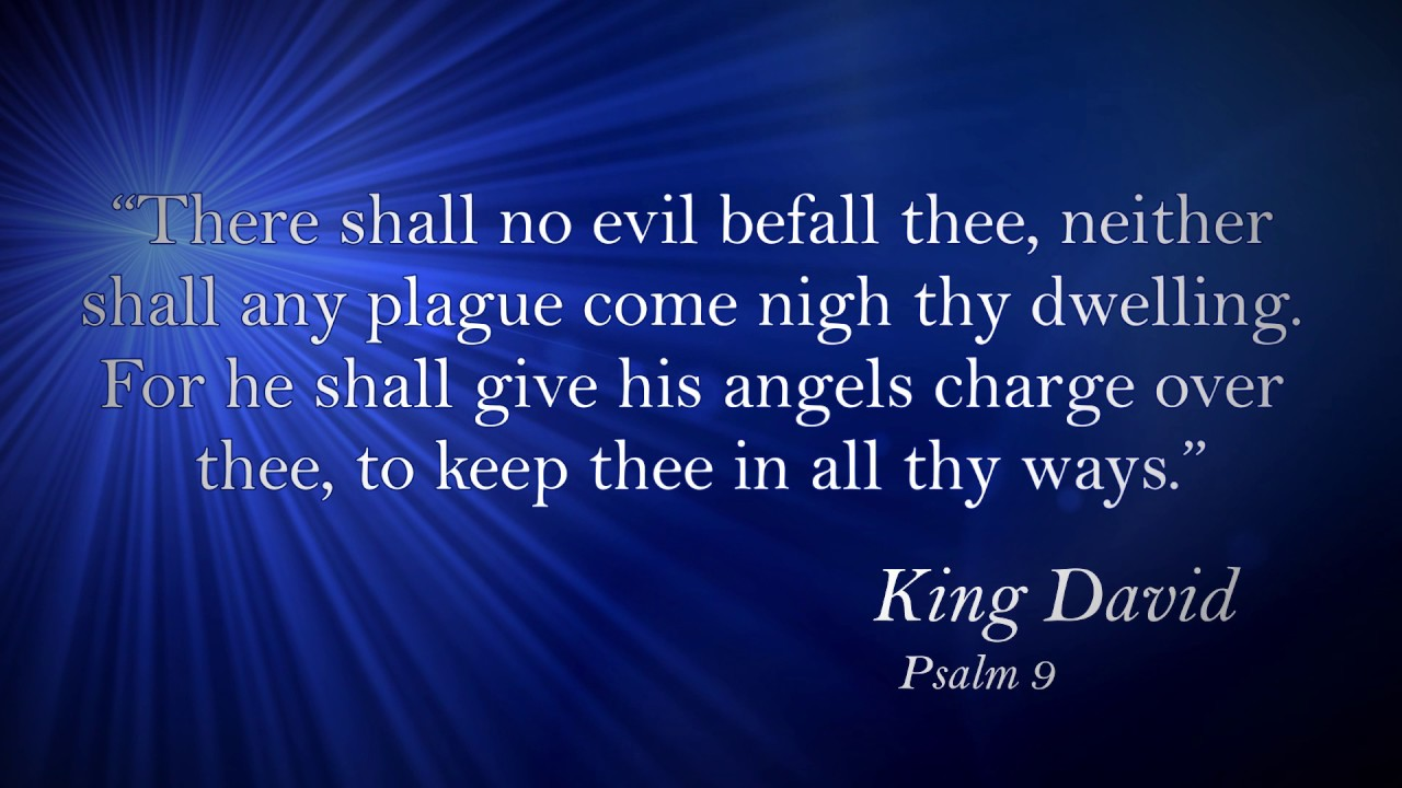 famous bible quotes verses king david psalm 91 10 11 youtube