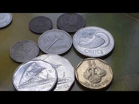Fiji's older decimal coins 1969-2009