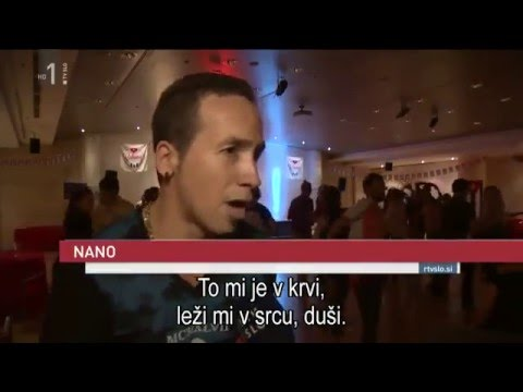 Slovenia TV interview - Manana Festival