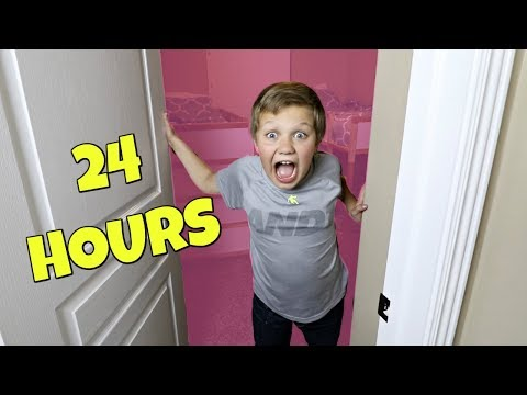 24 HOURS IN MY SISTERS' ROOM!
