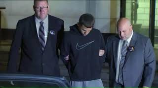 Suspect in Junior's stabbing death walked by police