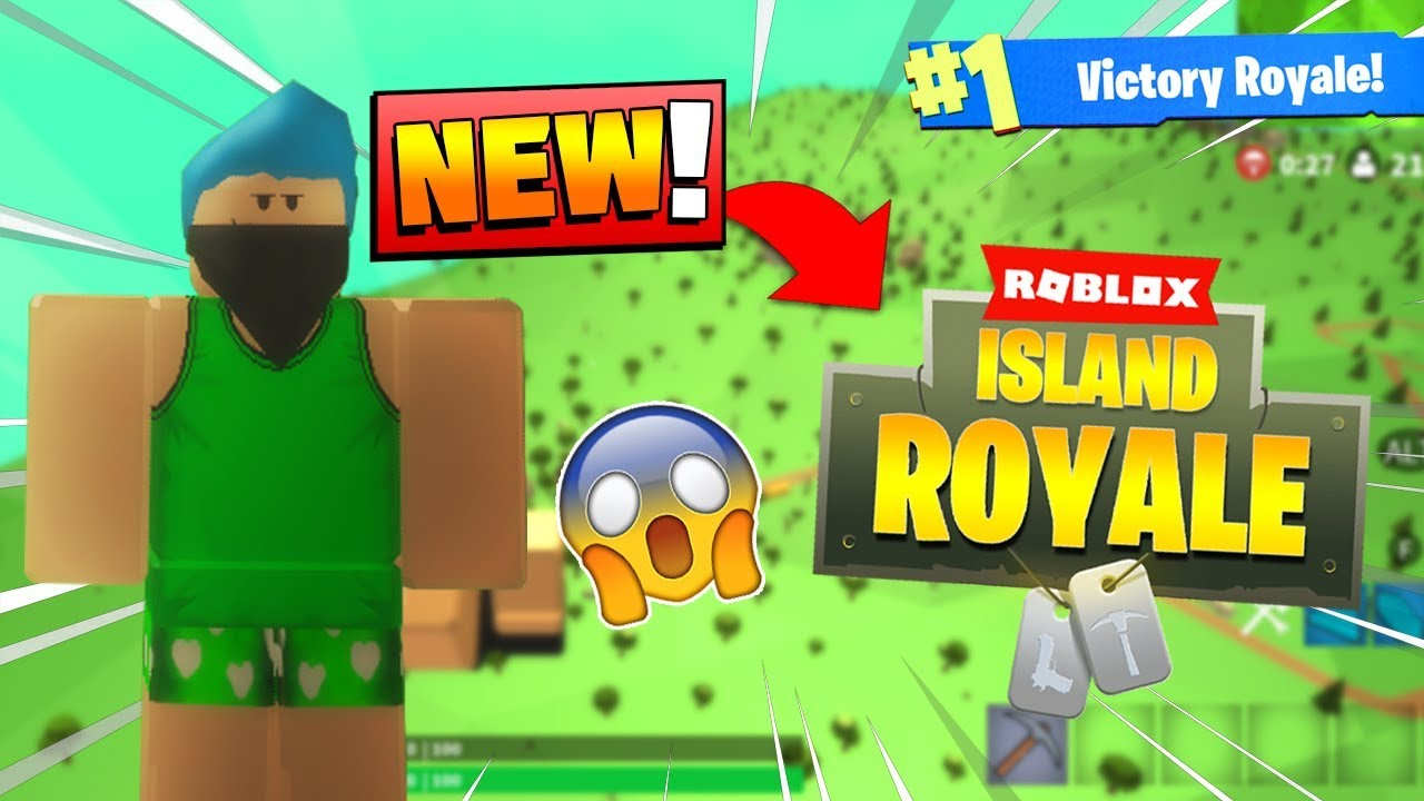 Fortnite Battle Royale But In Roblox Roblox Fortnite Battle Royale How To Play Alpha Access Roblox Island Royale Youtube