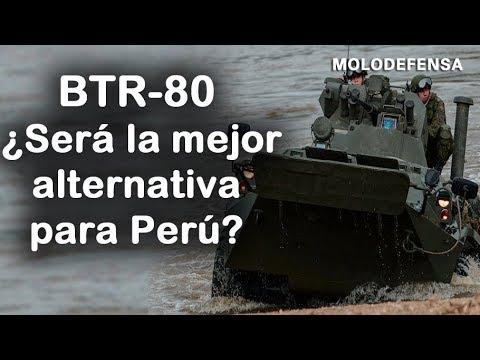 ¿Es la mejor alternativa el BTR-80 para el Perú ?