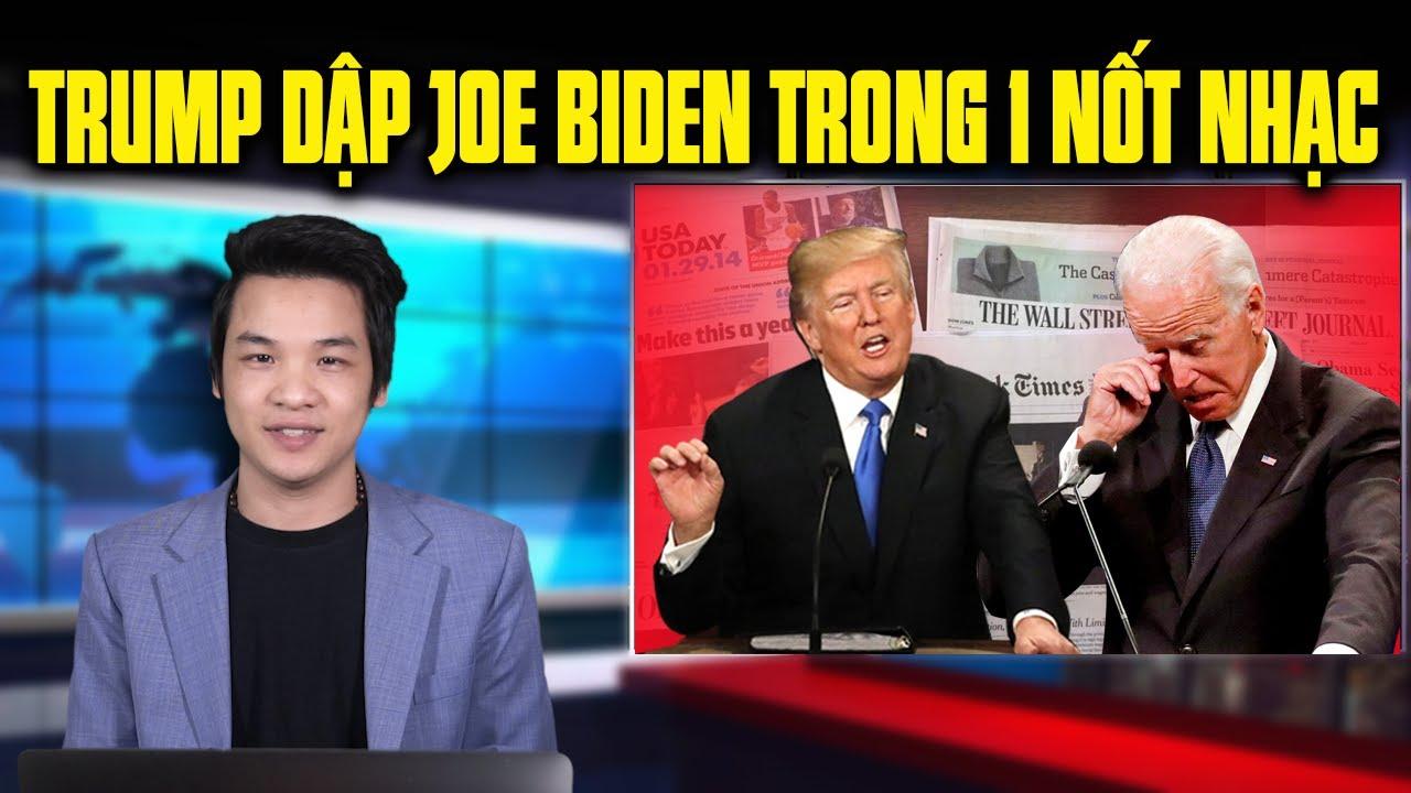 TT Donald Trump nắm bài tẩy Joe Biden, truyền thông cánh tả bị Trung Cộng mua chuộc hàng triệu USD