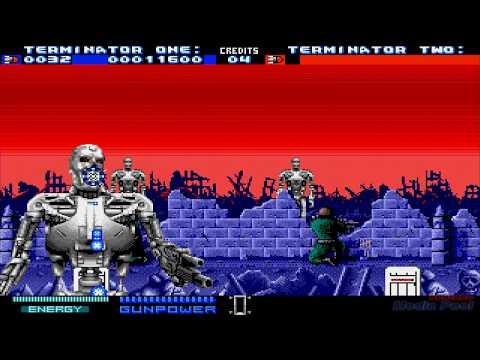 1991 Terminator 2: Judgment Day  SEGA Genesis Old School retro game playthrough