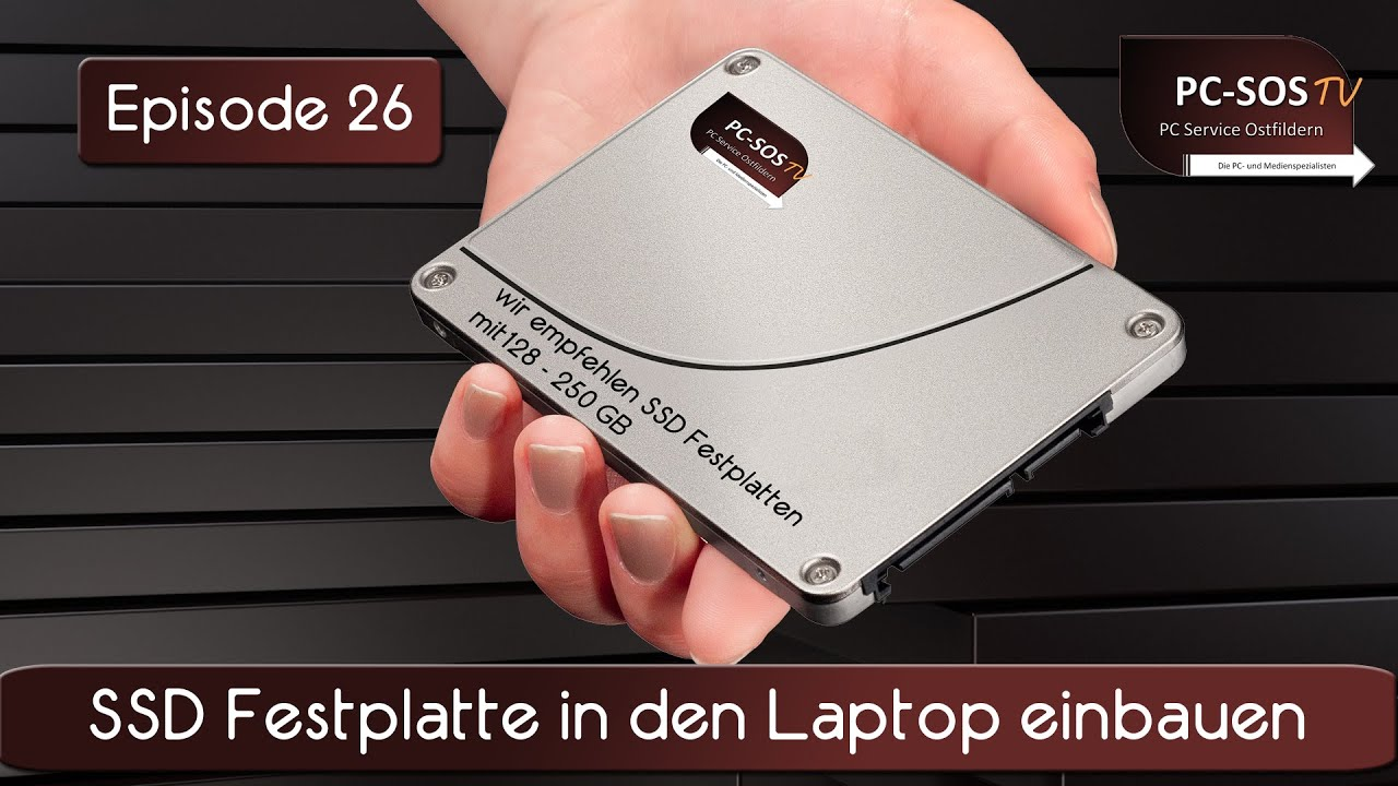 Laptop Festplatte Tauschen