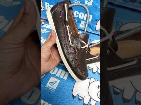 Sebago Docksides Brown Leather Original BNIB
