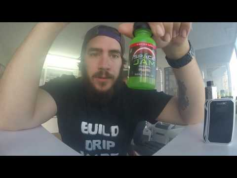 SPACE JAM EJUICE REVIEW!!! High vg line