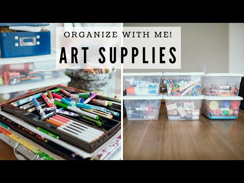art-supplies-organization-for-kids- -organize-with-me!