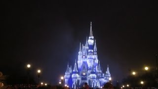 RAINY EERIE NIGHT AT MAGIC KINGDOM!!