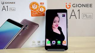Gionee A1 Plus Unboxing & Overview- In Hindi