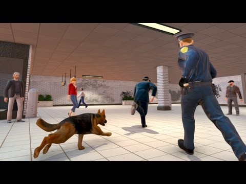 Police Dog City Subway Crime (by Nation Games 3D) Android Gameplay [HD]