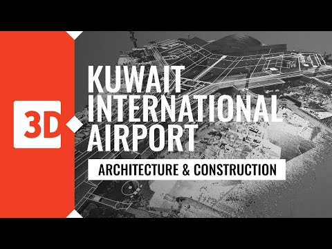 Kuwait International Airport - point cloud and 2D drawings