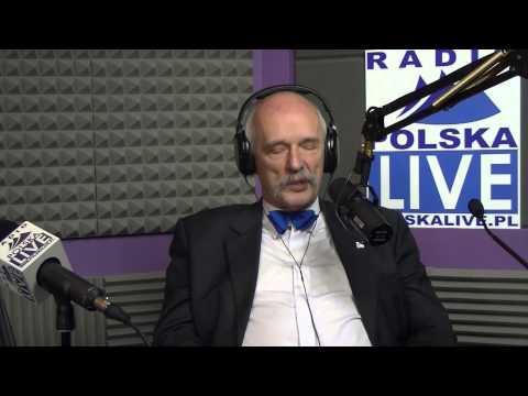 Janusz Korwin-Mikke na żywo - Radio Polska Live!