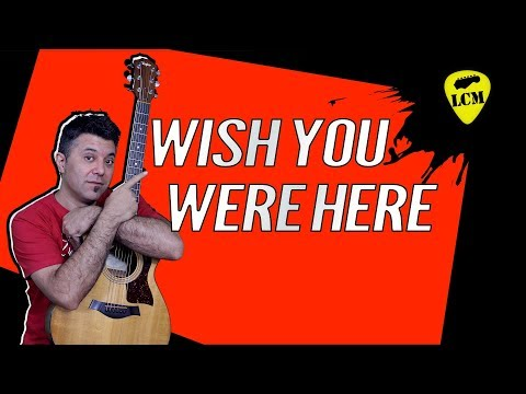 Wish You Where Here - Pink Floyd - Intro di Chitarra Performance