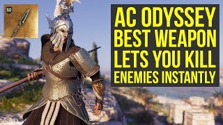 Assassin's Creed Odyssey Best Weapon Lets You KILL ENEMIES INSTANTLY (AC Odyssey Best Weapons)