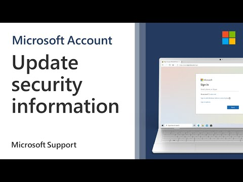 How To Update Your Microsoft Account Security Information | Microsoft