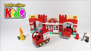 Lego DUPLO 10593 Fire Station Lego Speed Build For Kids