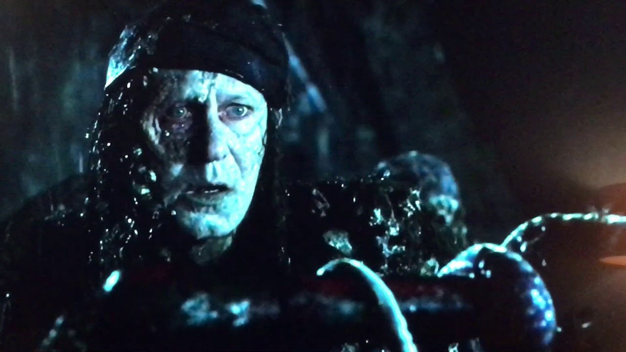 Pirates of the Caribbean Dead man\u2019s chest movie clip will and Bootstrap  Bill Turner\u2019s meet