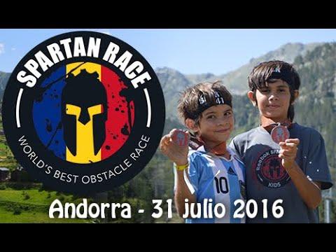Spartan Race Kids - Andorra 2016